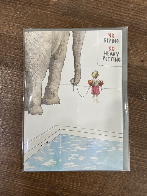 ON15 - NO DIVING NO HEAVY PETTING