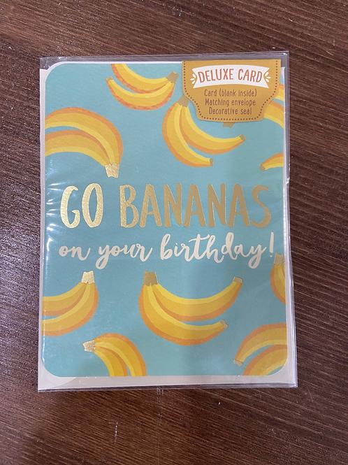 C0067 - GO BANANAS ON YOUR BIRTHDAY
