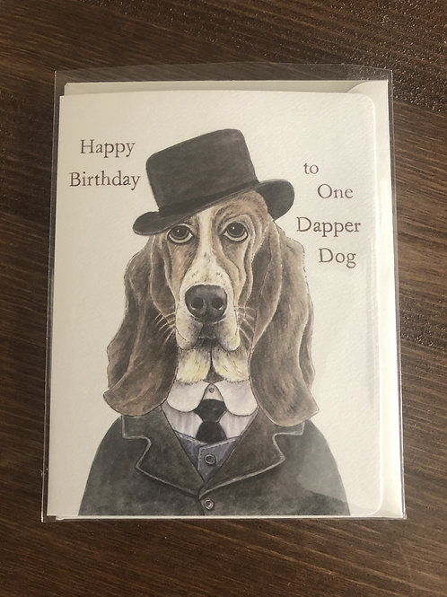 104 - HAPPY BIRTHDAY TO ONE DAPPER DOG