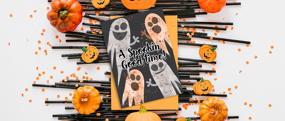 SPOOKIN' GOOD TIME INVITATION