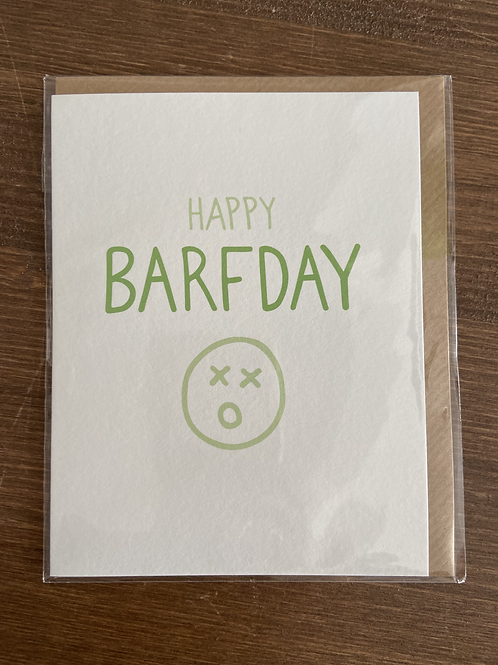 HP - HAPPY BARF DAY
