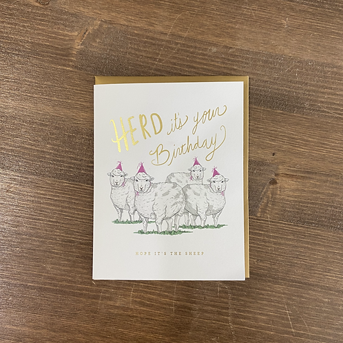 GC0293 - HERD ITS YOUR BIRTHDAY