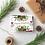 Thumbnail: PEACE LOVE JOY FOLIAGE RED - 5x7 FLAT GREETING CARD