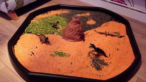 V is For Volcano Tuff Spot A-Z Blog Hop