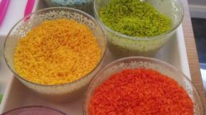 Super Colourful Rainbow Rice