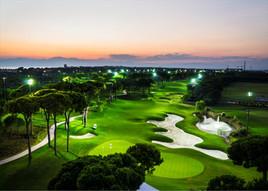 Maxx Royal Belek, Golfplatz bei Nacht.jp