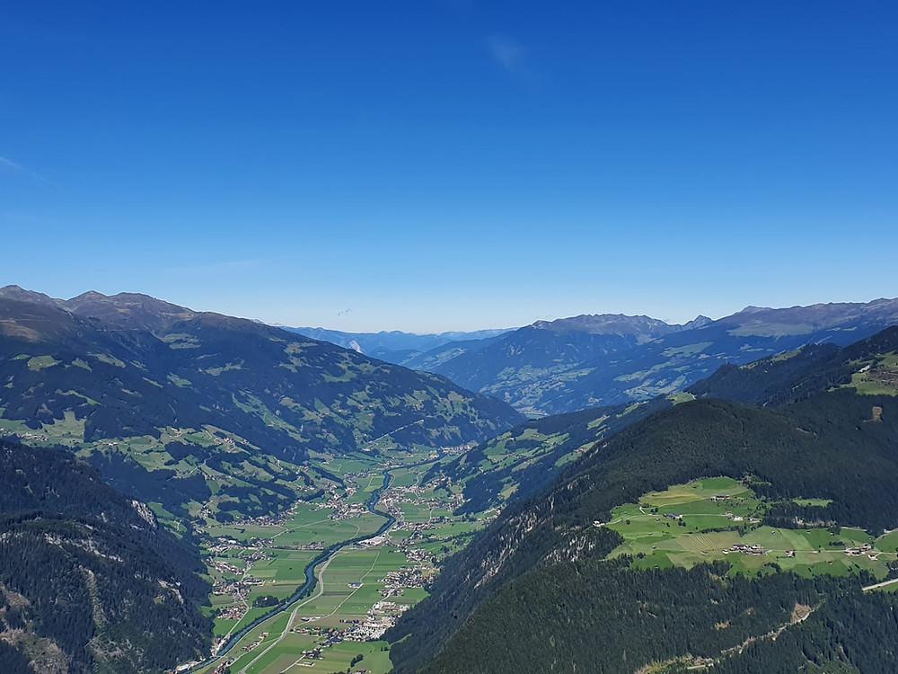 Tolle Aussicht Zillertal