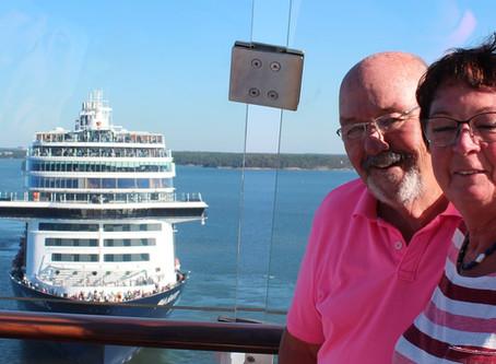 Panoramafahrt mit Mein Schiff 1 in der Ostsee