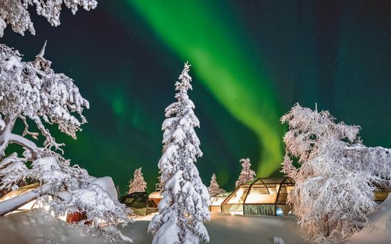 Levin Iglut Polarlichter