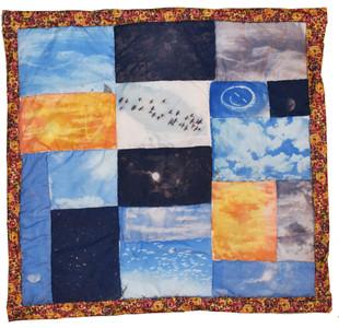 2,300 Beautiful Skies Tapestry