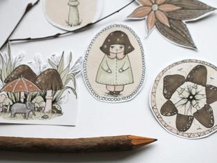 Tiny illustrations!