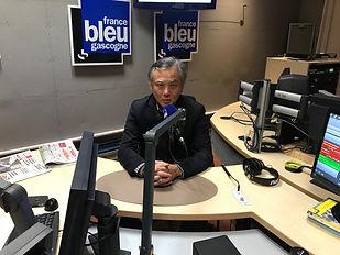 Emission France Bleu Gascogne Promenade autour d'Hoan Kiem de Philippe Mary