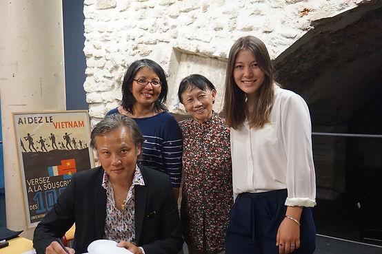 """Présentation du roman """"Promenade autour d'Hoan Kiem"""" de Philippe Mary Festival IciVietnam"""