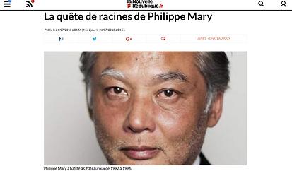 Promenade autour d'Hoan Kiem de Philippe Mary article Nouvelle République
