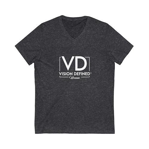 V.D. Jersey Short Sleeve V-Neck Tee