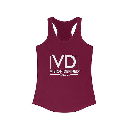 Vision Defined Woman - Racerback Tank