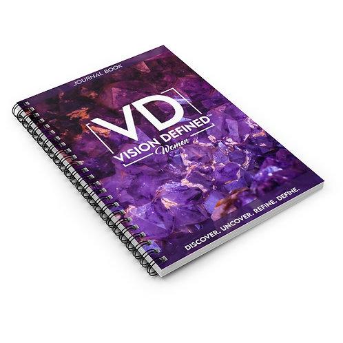 Vision Defined Women - Spiral Journal (Gems)