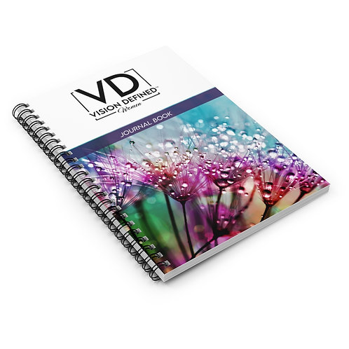 Vision Defined Woman - Spiral Journal (Flower Bloom)