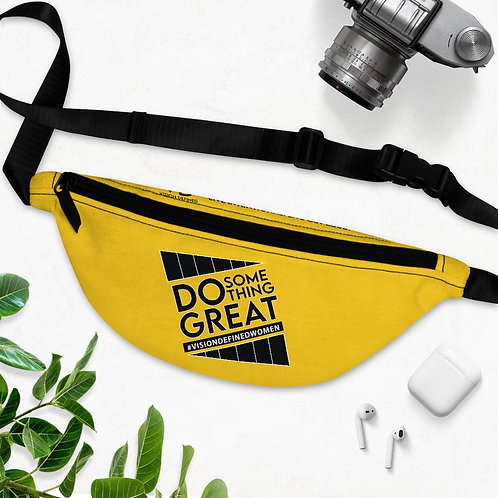 Copy of Do Something GREAT! V.D. Fanny Pack (Yellow)