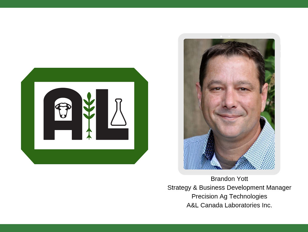 Strategy & Business Development Manager, Precision Ag Technologies, A&L Canada Laboratories Inc.