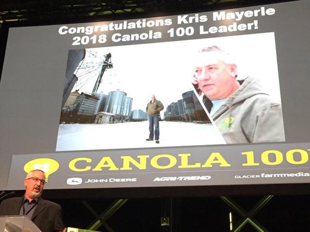Canola 100 Challenge 2018
