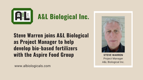 A&L Biological Inc. Appoints Project Manager on Novel Crop Nutrition Product Development