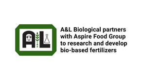 A&L Biological partners with Aspire Food Group to research and develop bio-based fertilizers