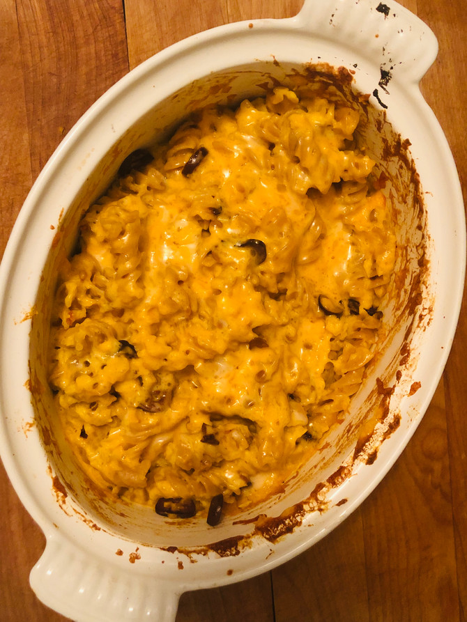 OH soo Cheesy MAC and Butternut Squash and Cheese for those Picky Eaters.