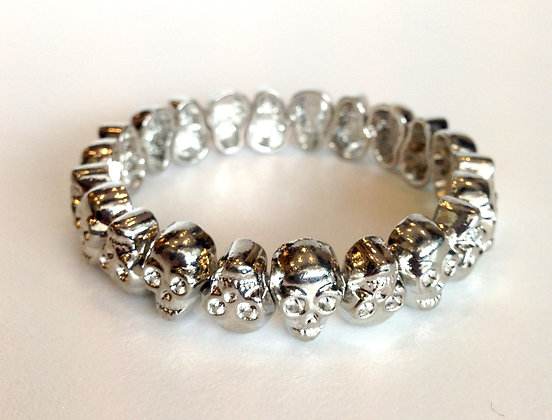 Skeleton Silver Bracelet