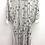 Thumbnail: Chain Prints White Dress
