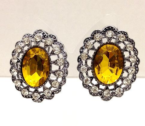 Dolce Yellow Earrings