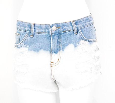 Dipdye Jean Shorts