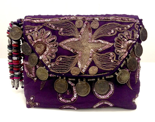 Saro Silk Purse