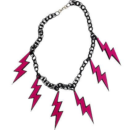 Zig Pink Necklace