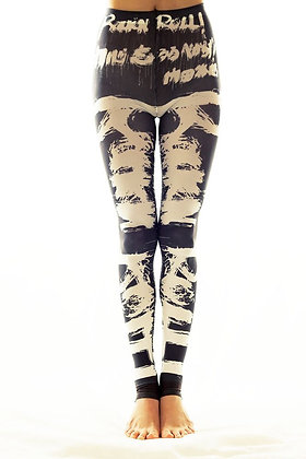 Rock n' Roll Footless Tights