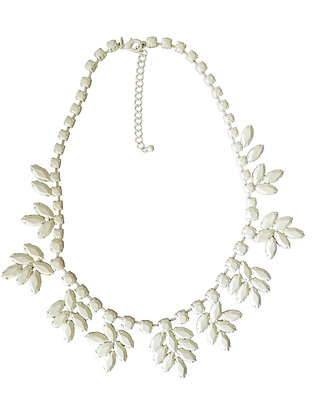 Solid White Necklace