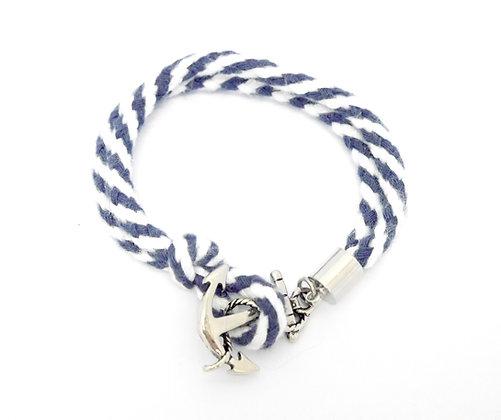 Win Grey Strap Bracelet