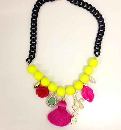 Lovelock Statement Necklace