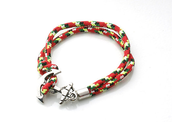 Anchor Red Rope Bracelet