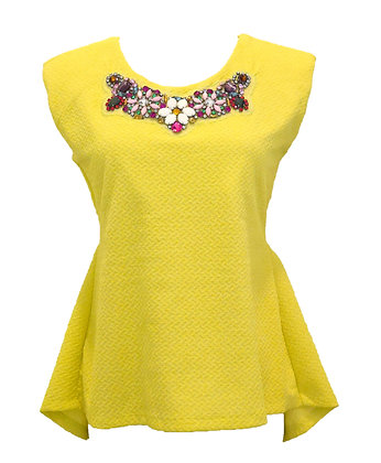 Jewel Lime Top
