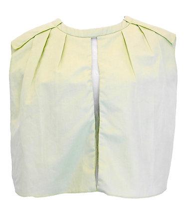 Dee Dee Lime Linen Top