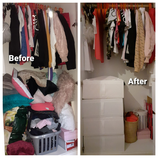 Small Wardrobe - Before & After