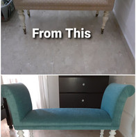 Upcycled Chaise