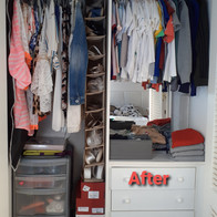 Small Wardrobe - Organised