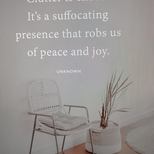 Clutter quote