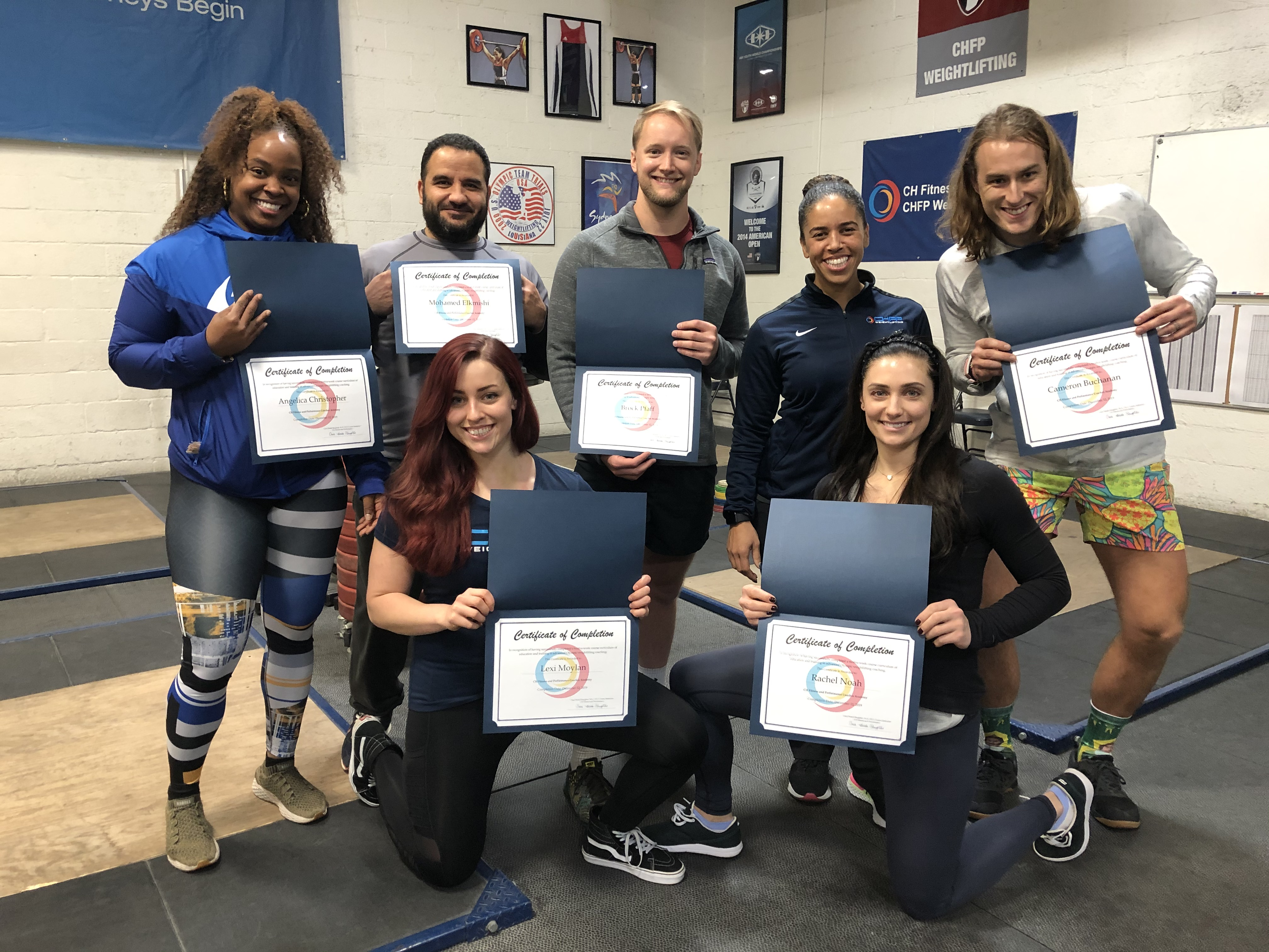 2019 Coaches Academy Graduates