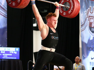 CHFP Weightlifting Brings Big Squad to AO Finals