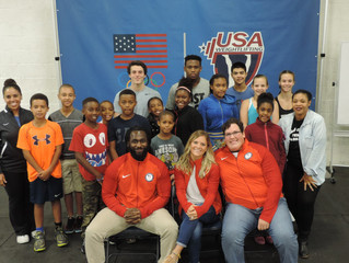 Olympians support launch of Youth Weightlifting Program