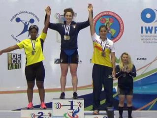Bradley: Pan American Junior Champion!