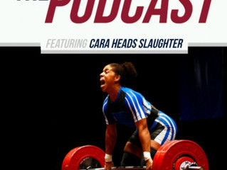 Cara Heads Slaughter on The USA Weightlifting Podcast